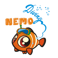 Nemo Diving logo